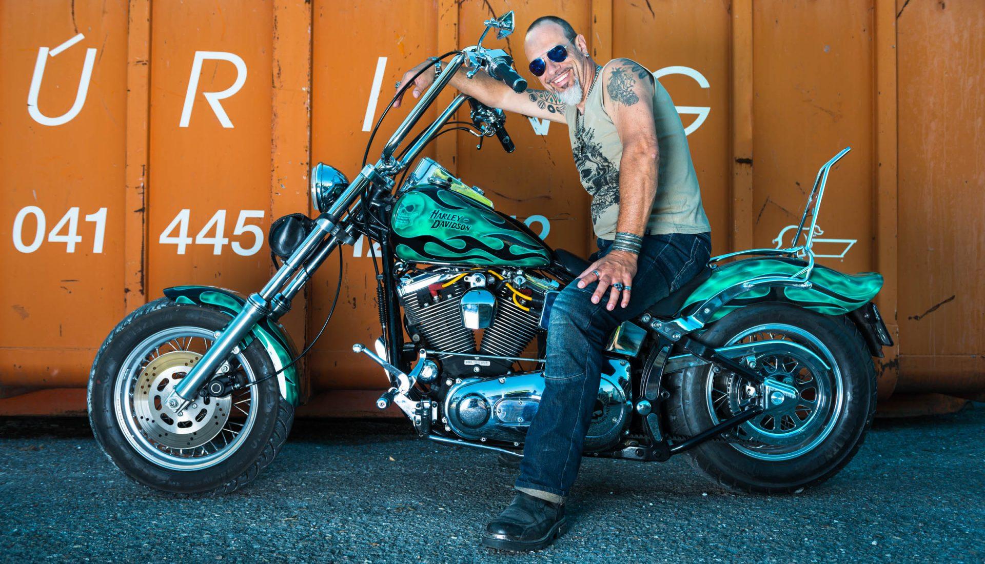 Werbefotograf, Editorialfotografie, Harley Davidson, fotograf-spitz